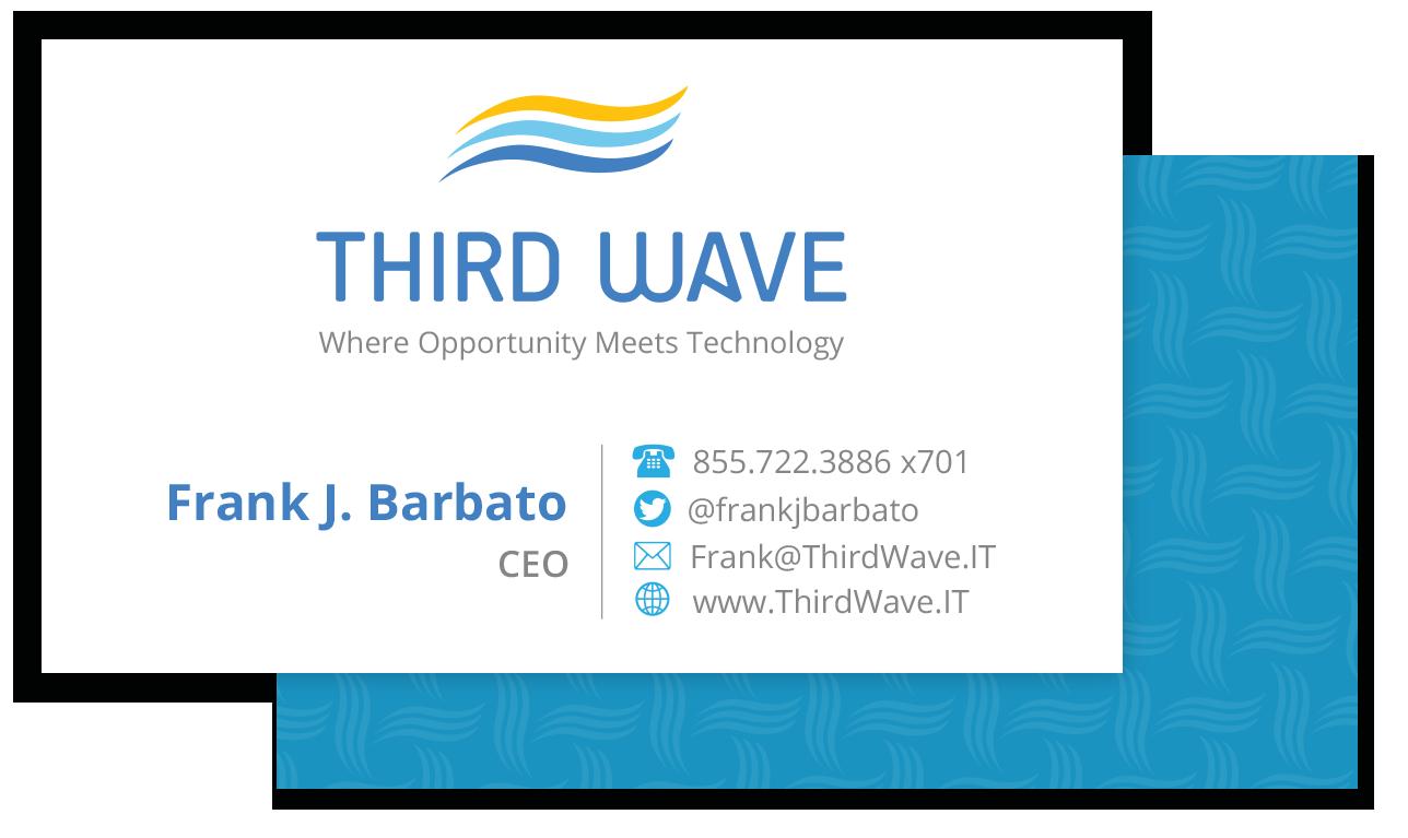 Thirdwave Business card Design